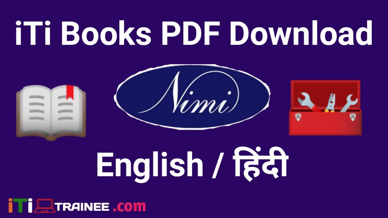 ITI Nimi Books Pdf Free Download