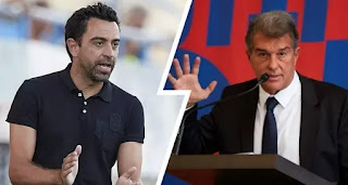 Presidential candidate Joan Laporta thinks Xavi is not ready to coach Barcelona