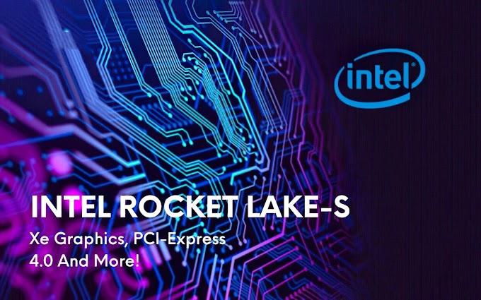 Intel : le PCIe 4.0 sur les processeurs Rocket Lake-S ! 2021
