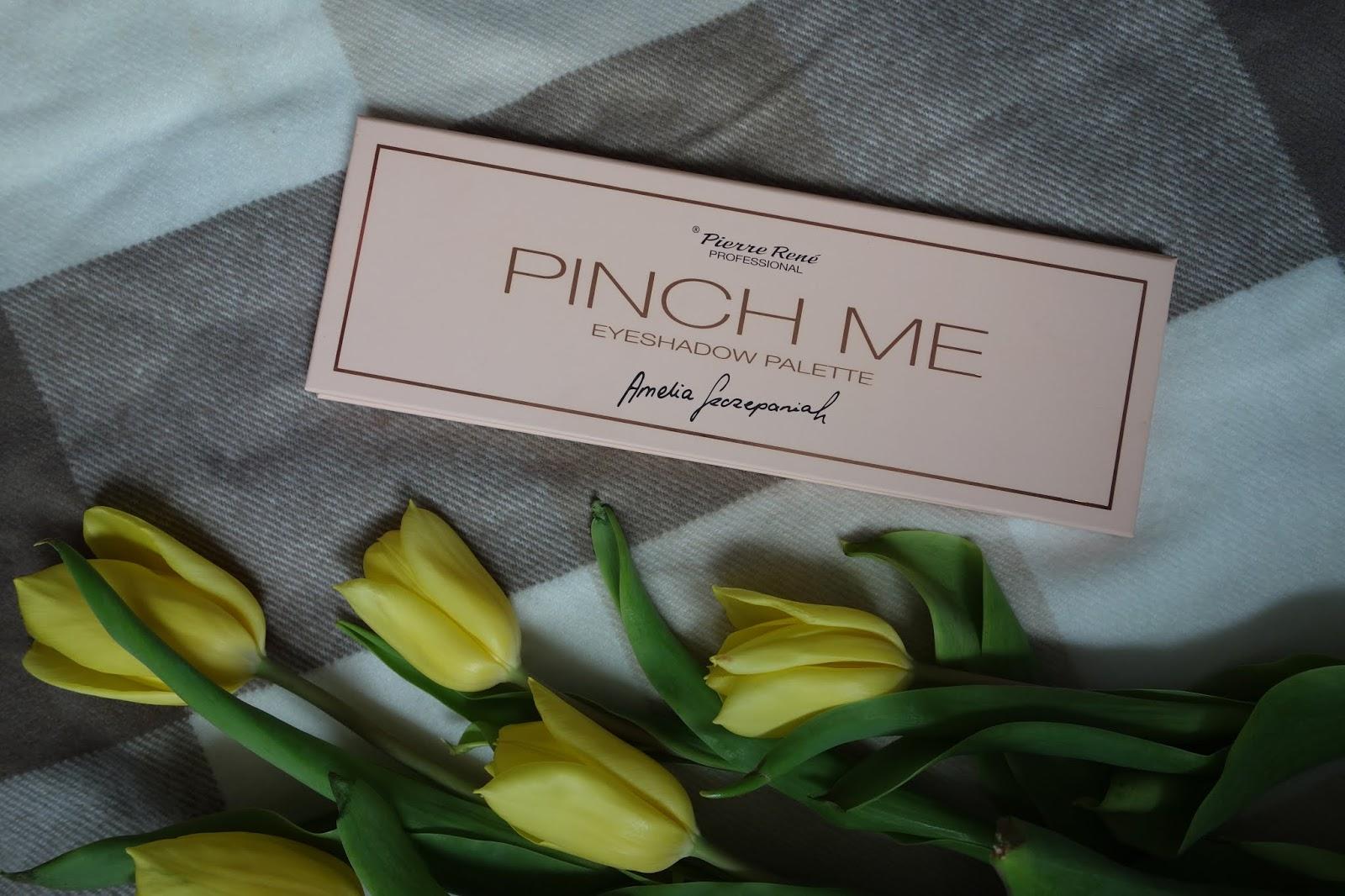 Paleta cieni Pierre Rene x Amelia Szczepaniak Pinch Me   Czy ona się do czegoś nadaje?!