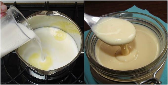 Домашнє згущене молоко за пару хвилин. В рази корисніша та смачніша, ніж з магазину