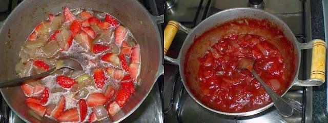 Receita de carne de peru com morangos