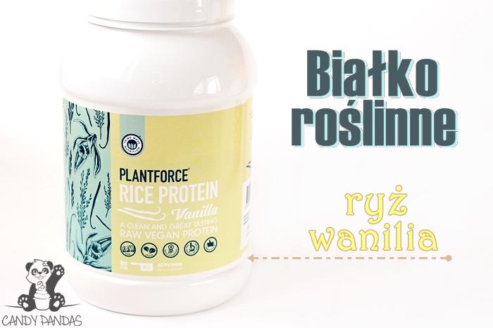 Białko ryżowe waniliowe – Siła Roślin