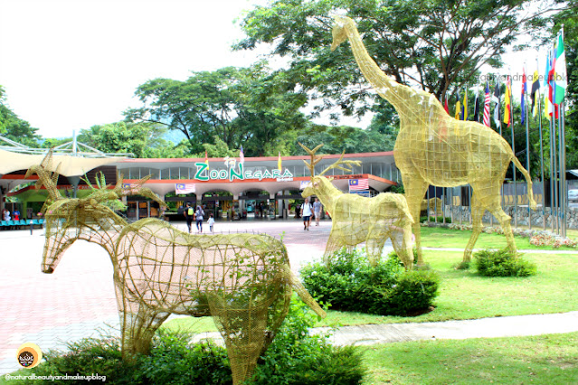 Zoo Negara, National Zoo of Kuala Lumpur, Malaysia. Best places to visit in KL in two days. NBAM blog