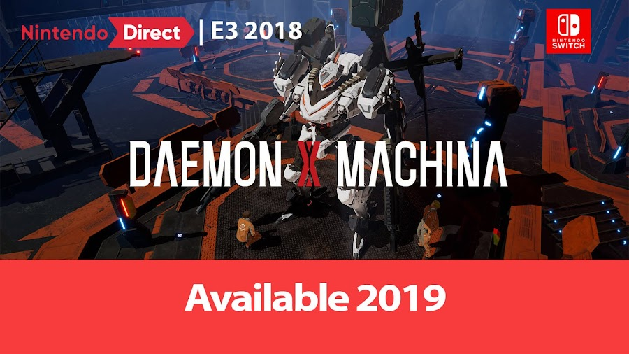 daemon x machina nintendo switch