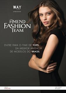 Concurso de Modelo 2015 - Amend Fashion Team