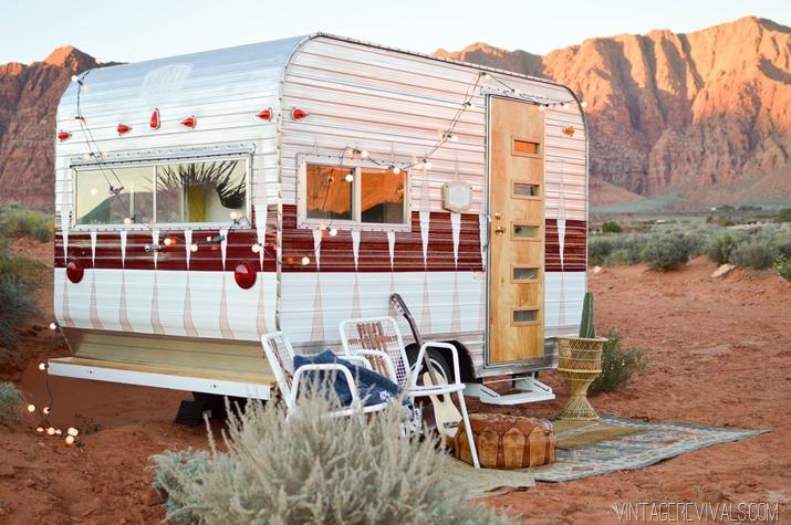Home Amp Garden La M 233 Tamorphose D Une Caravane R 233 Tro