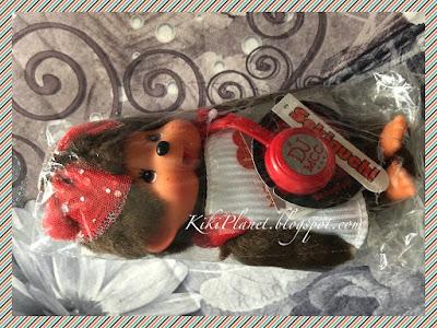 kiki monchhichi doll poupée fes rock dj casque beat disc jockey collection