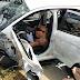 Acidente caminhão x carro na Reta Tabajara em Macaíba