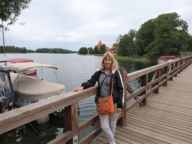 il castello sull'isola di trakai
