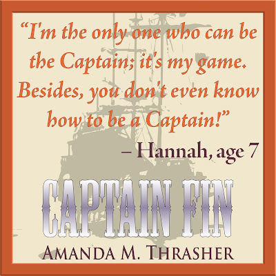 "Captain Fin Meme: ""I'm the only one who can be the Captain; it's my game. Besides, you don't even know how to be a Captain!"" -Hannah, age 7"