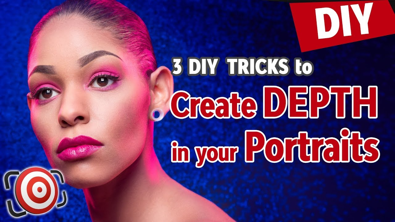 3 DIY PHOTOGRAPHY TIPS to Create Depth in Studio Portraits and Modeling Shots