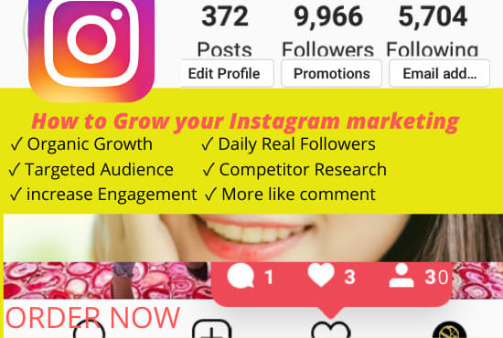 Instagram marketing promotion target organic growth daily - #socialmediatip #digitalmarketingindia #instagramgrowthtips