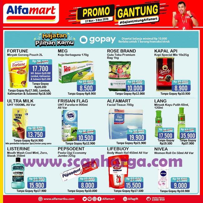 Promo Jsm Alfamart Cashback Gopay 13 15 Desember 2019 Scanharga