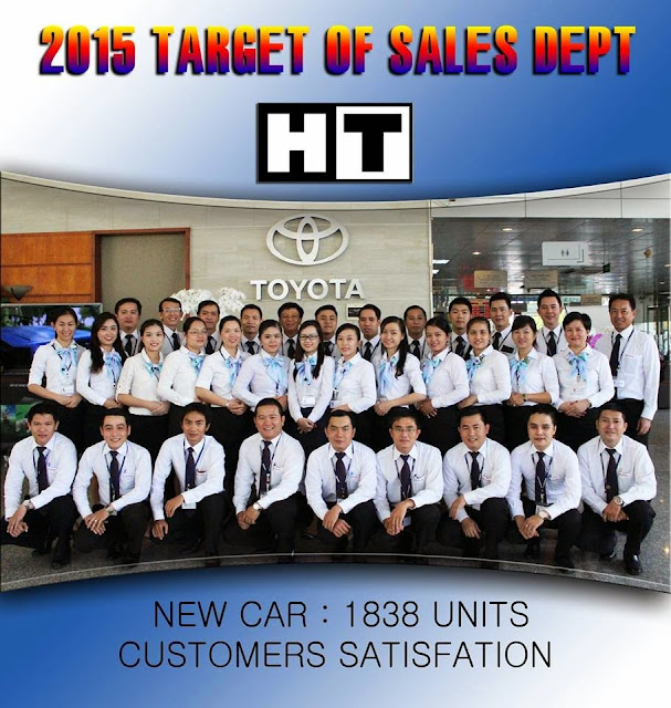 toyota tan cang target of sales dept -  - Toyota Hiroshima Tan Cang - New Toyota & Used Car Dealer in Vietnam