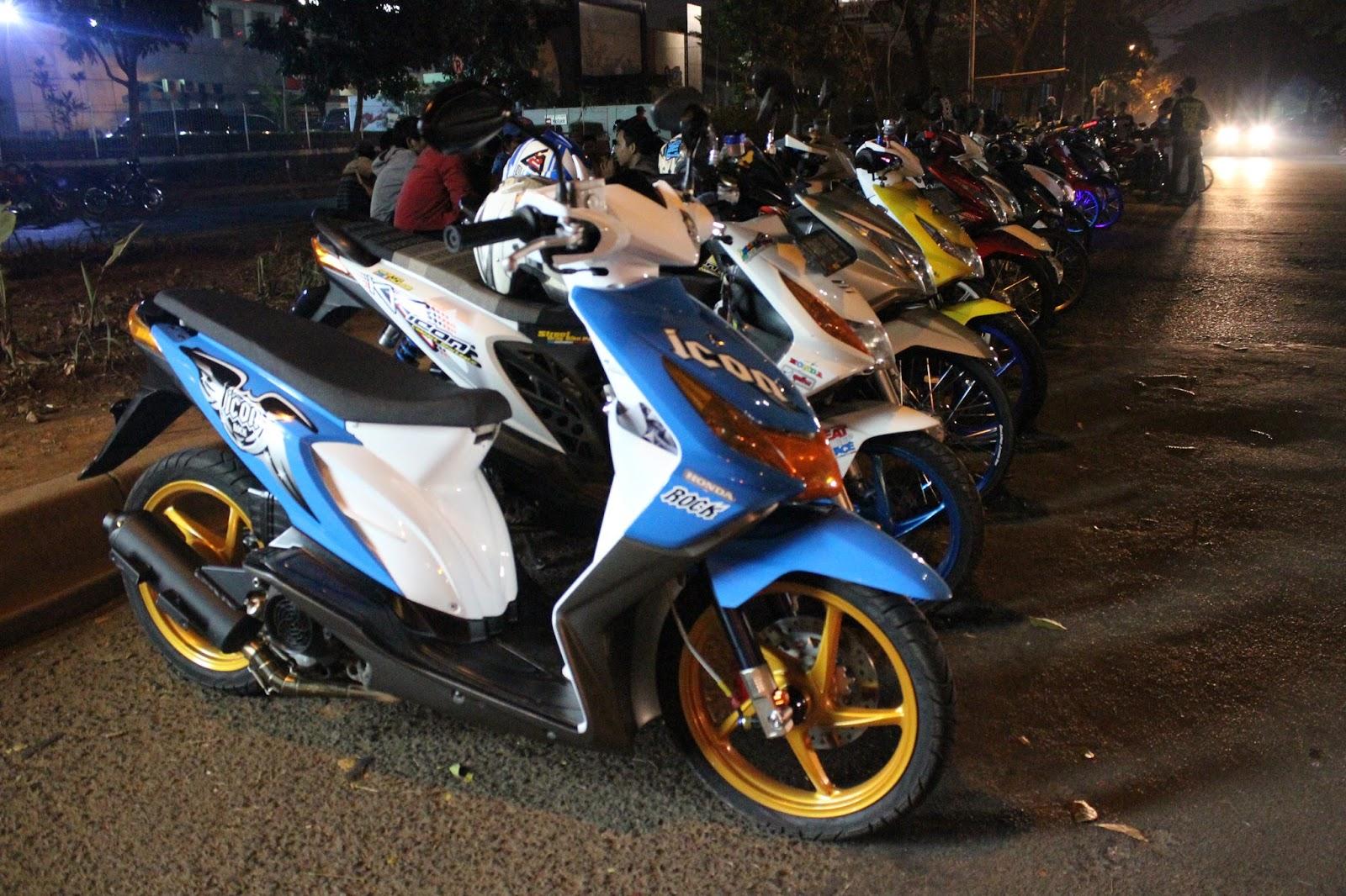 Download Koleksi Modifikasi Motor Scoopy Thailand Terbaru Palm