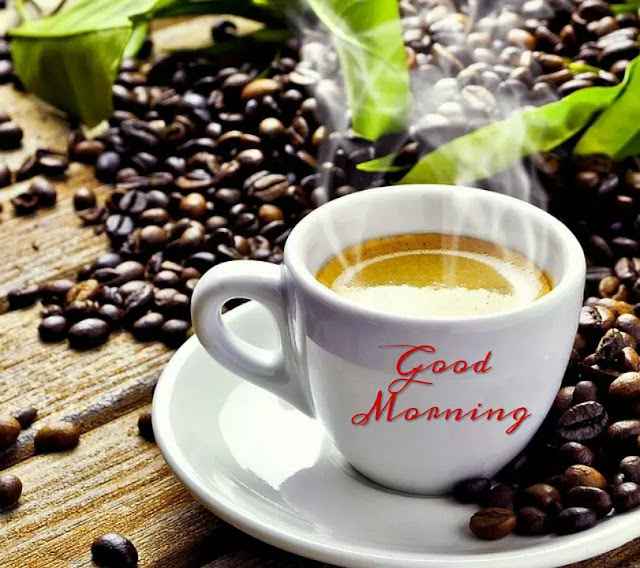 Awesome good morning coffee with cup images