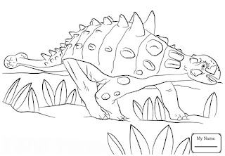 Best Of Ankylosaurus Coloring Pages For Kids