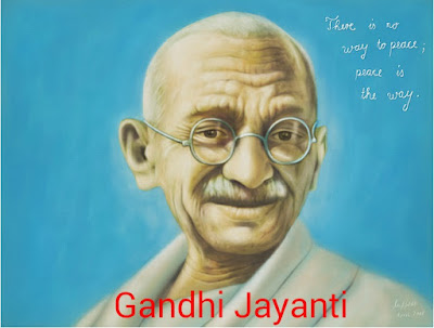 Gandhi Jayanti in Hindi