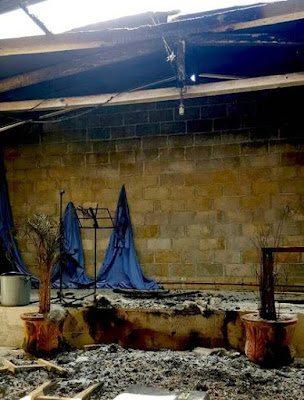 Catolicos quemaron una iglesia evangelica en Chiapas antes de la visita del papa.