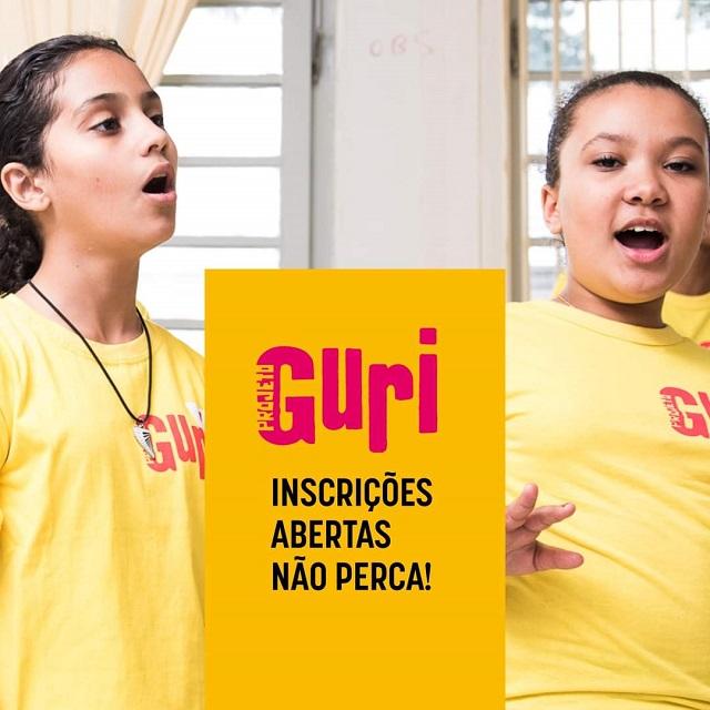 Projeto Guri - Polo da Ilha com inscrições on line abertas para aulas de violão e percussão