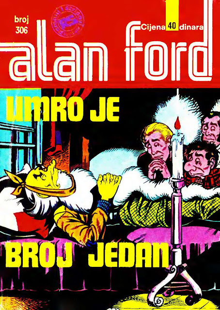 Umro je Broj Jedan - Alan Ford