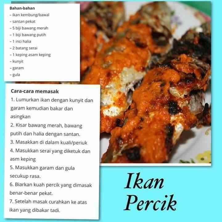 resepi ikan percik