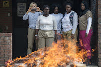 Taylor Schilling, Vicky Jeudy, Adrienne C. Moore, Danielle Brooks and Amanda Stephen in Orange is the New Black Season 5 (8)