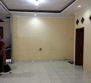 Ruangan sebelum terpasang furniture