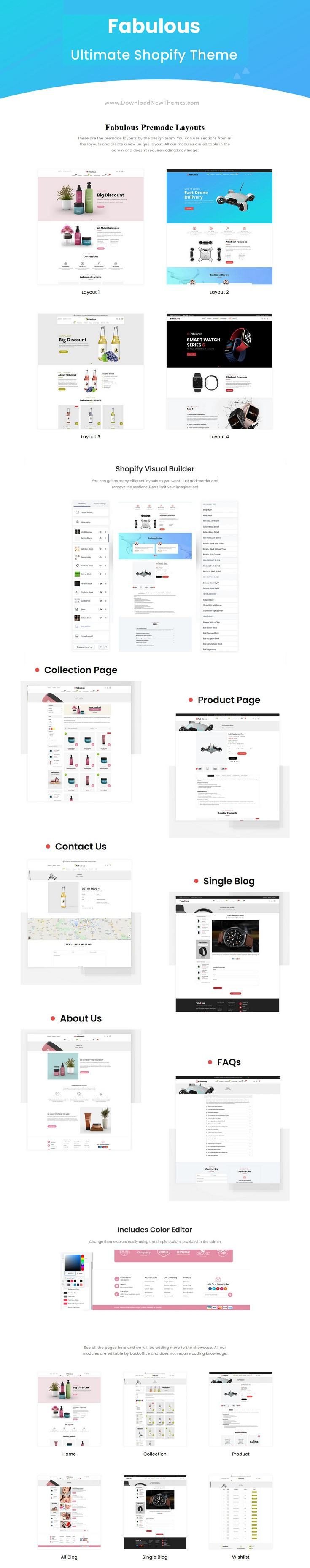 Single Product eCommerce Shopify Theme