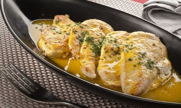 Receta pollo a la naranja