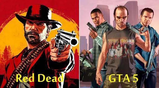 red dead gta 5