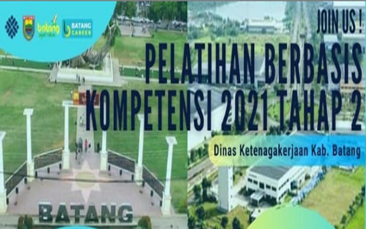 Pelatihan Berbasis Kompetensi Tahun Anggaran 2021
