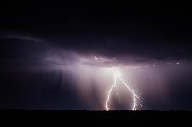صور البرق والرعد