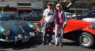O casal Sergio e Doris Landim levou parte da coleção para a avenida