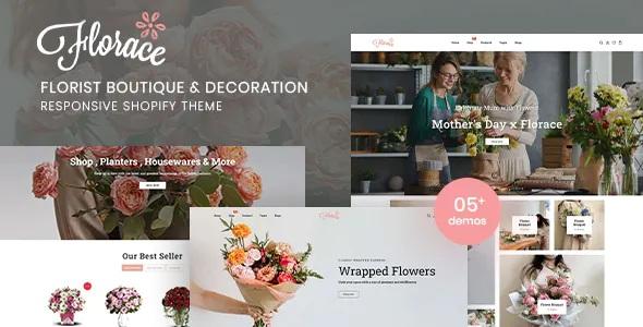 Best Florist Boutique & Decoration Store Shopify Theme