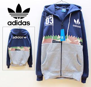 Jaket & Sweater Fleece Hoodie Adidas ADS009
