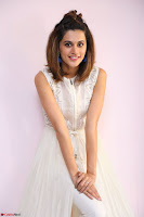 Taapsee Pannu in cream Sleeveless Kurti and Leggings at interview about Anando hma ~  Exclusive Celebrities Galleries 062.JPG
