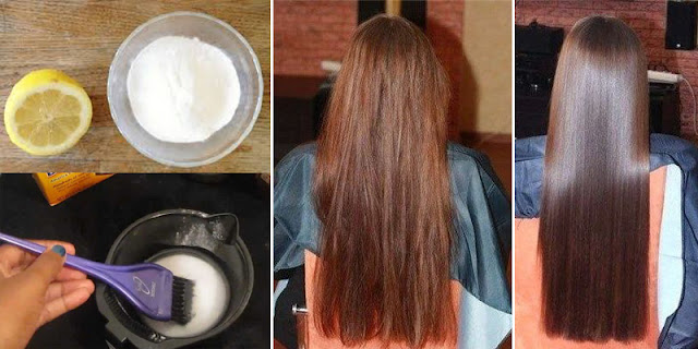 How To Straighten Hair By Using Natural Ingredients!