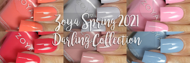 Zoya Darling Spring 2021 | Swatches & Review