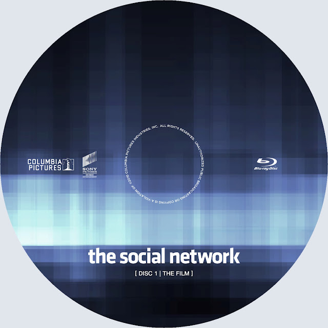 The Social Network Bluray Label