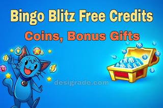 Bingo Blitz Free Credits, Coins & Bonus Gifts (February 2021)