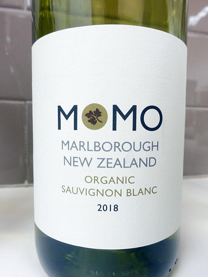 Momo Organic Sauvignon Blanc 2018 (88 pts)