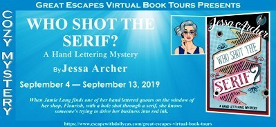 Upcoming Blog Tour 9/5/19
