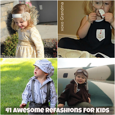 41 Awesome Refashions for Kids