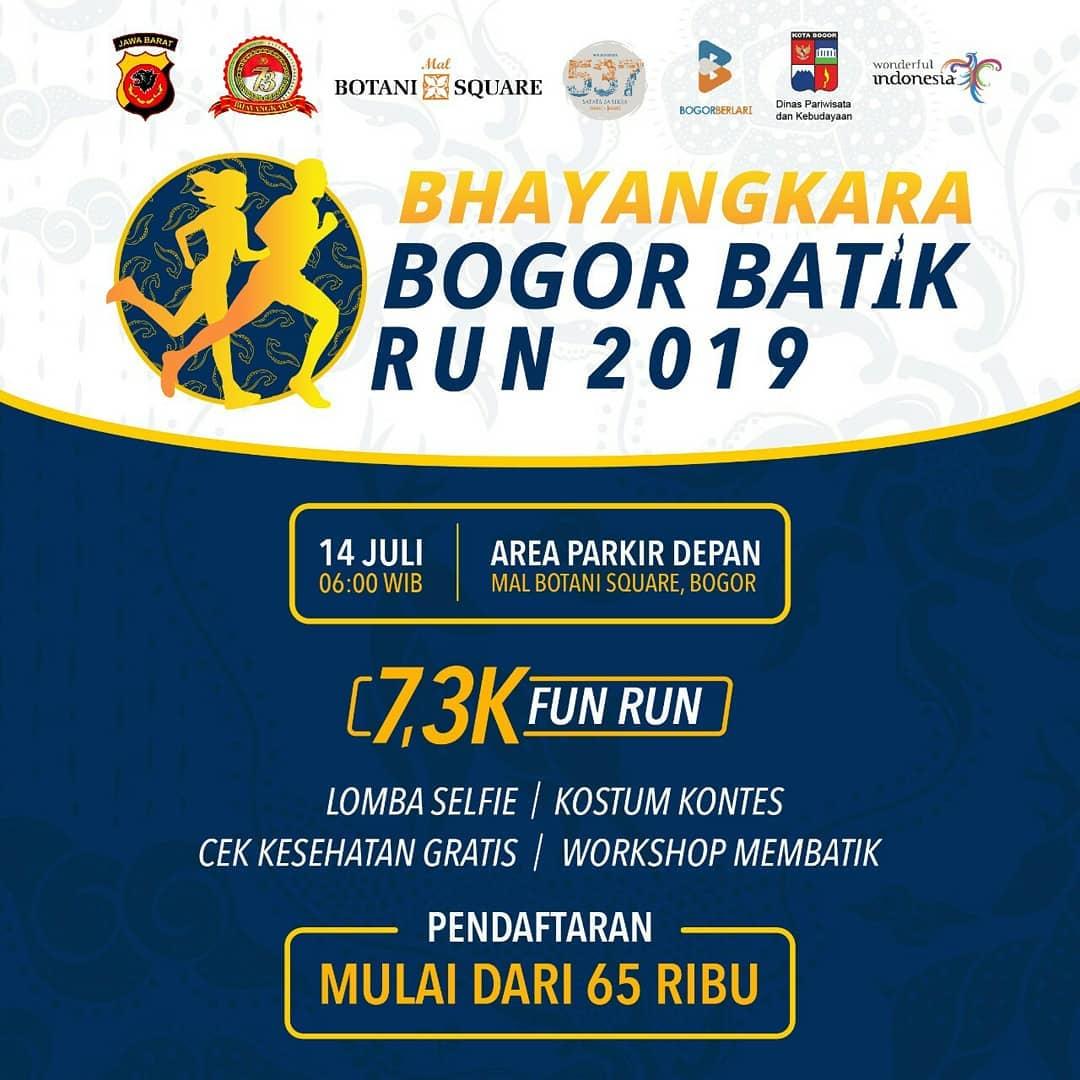 Bhayangkara Bogor Batik Run • 2019