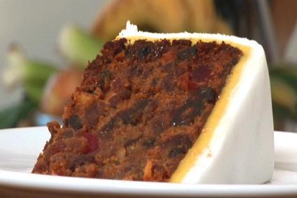 Fruit Marzipan Cake Recipe