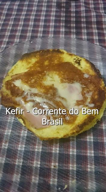 PÃO LOW CARB DE KEFIR DE LEITE