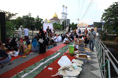 Suasa Bukber on the Lodji brug pada Sore Hari
