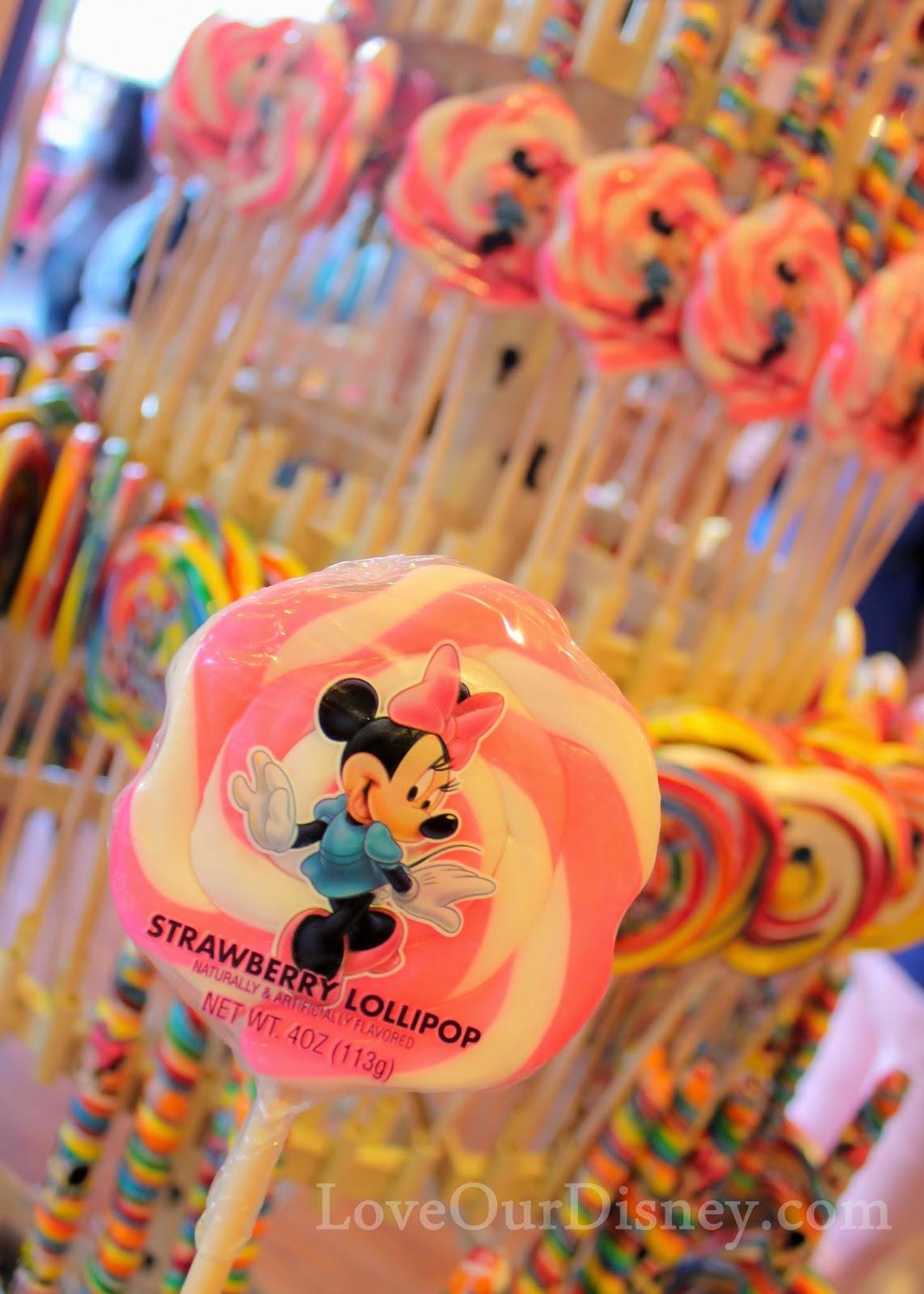 So many sweets at Disneyland's Candy Palace. LoveOurDisney.com